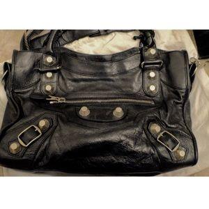 Balenciaga leather handbag (Authentic)